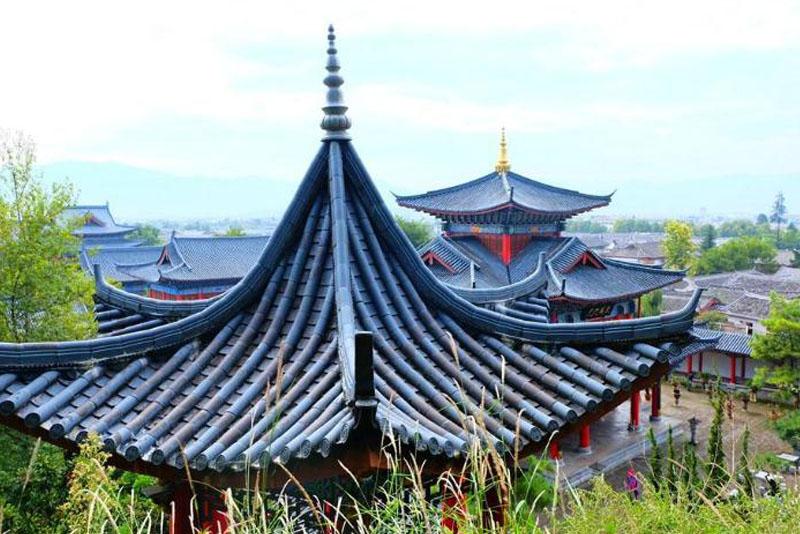 中国古建筑中的陪衬建筑知识分享
