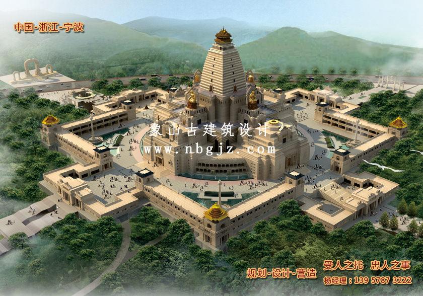 寺庙规划设计—北京云居寺方城
