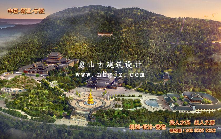 寺廟整體規劃—廣東省興寧市神光寺