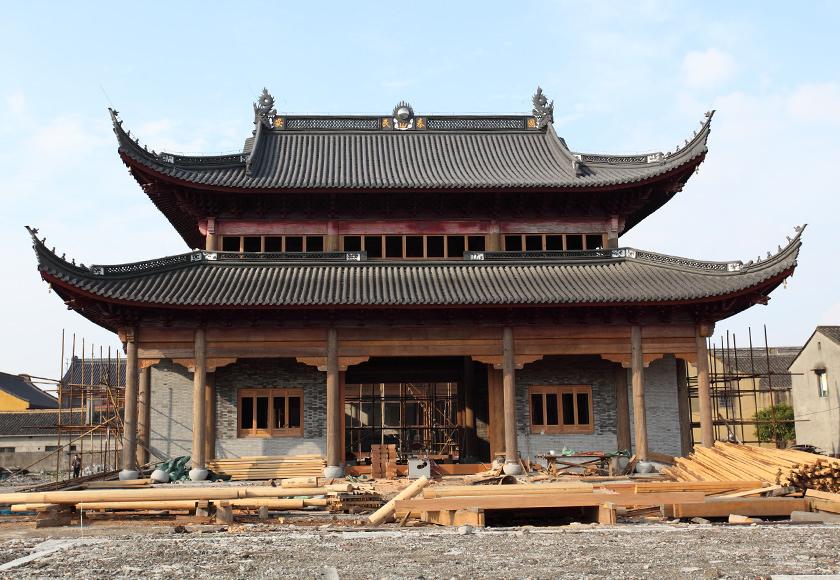 寺院工程施工—宁波接待讲寺