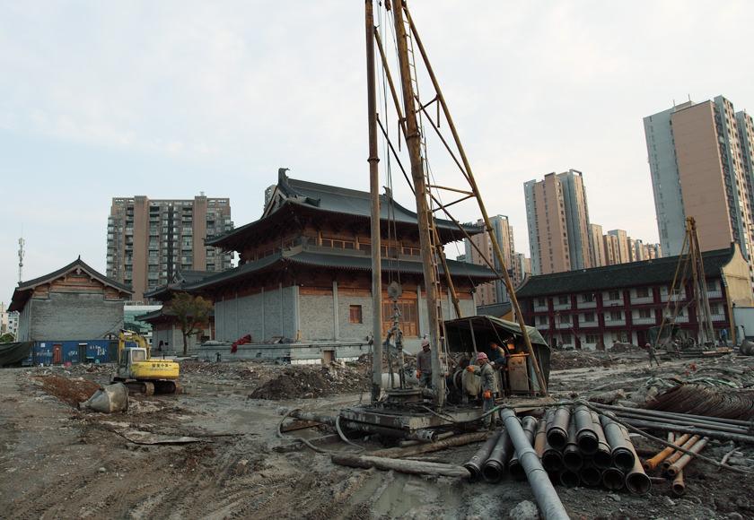 古建寺庙建筑—宁波法王寺