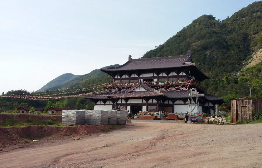 寺庙工程施工—台州天台山护国寺