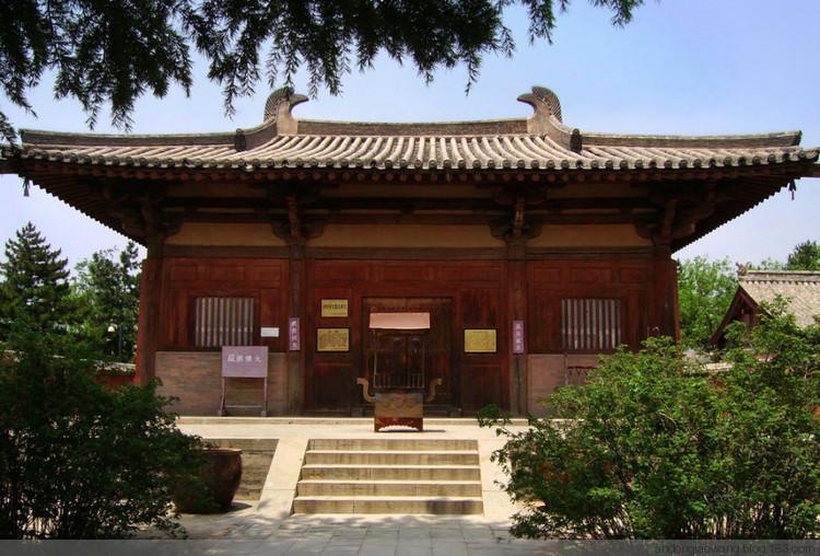 南禅寺大殿—唐代木结构设计营造