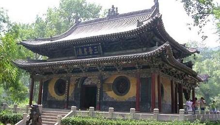 中国著名的十大寺庙——晋祠