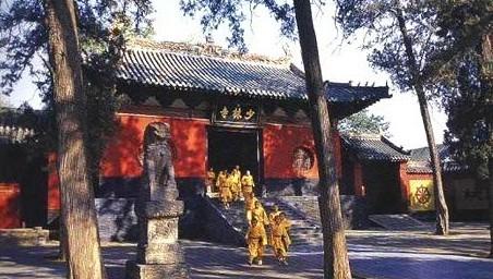 中国著名的十大寺庙——少林寺