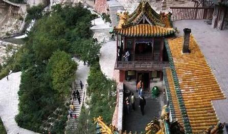 中国著名的十大寺庙——悬空寺
