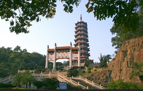 广东省著名古建筑旅游景点图片欣赏