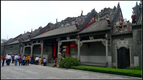 广东古建筑设计欣赏之陈家祠堂介绍