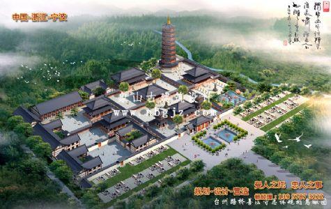 台州南山善法寺古建筑工程规划设计