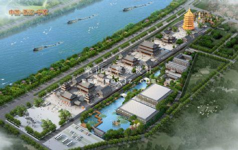 江苏宝应泰山殿寺庙重建项目规划图