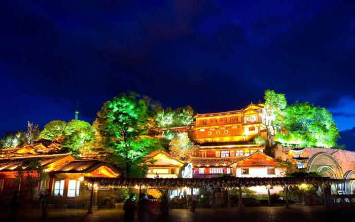 亮化工程-丽江古城夜景灯光照明设计