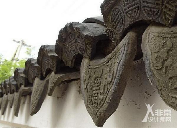中国古建筑设计构件之瓦当的介绍