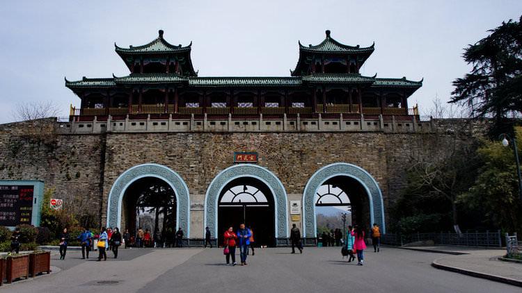 古建筑的外墙赏析之南京明城墙