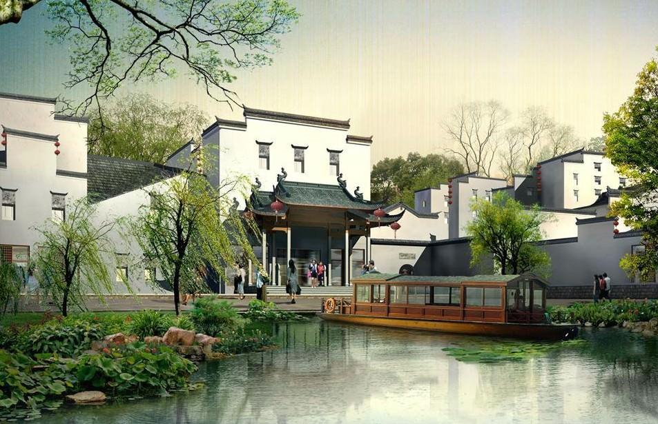 中国古建筑景观设计中蕴含的文化韵味