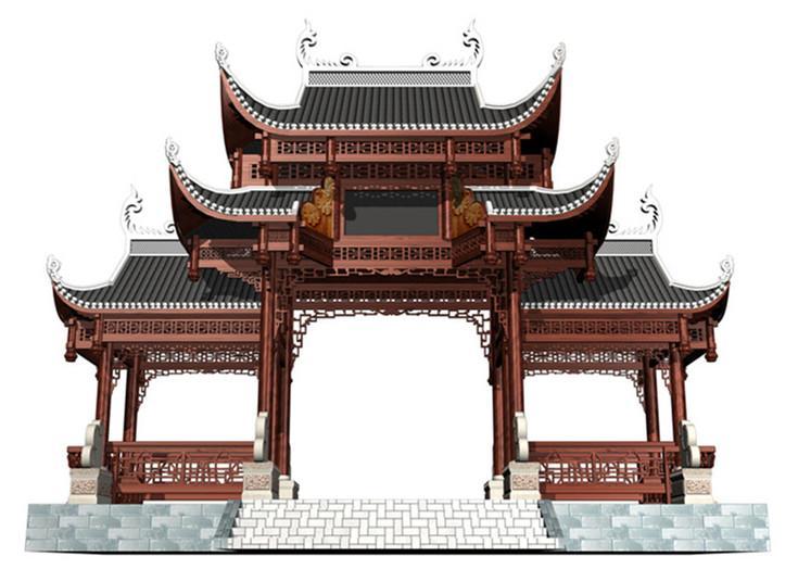 中国古建筑制度化的特点