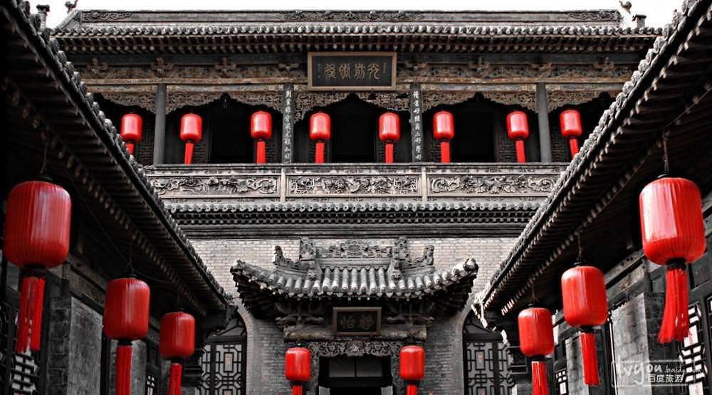 中国古代建筑群规划的组合