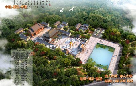 福缘禅寺古建筑工程施工图规划设计