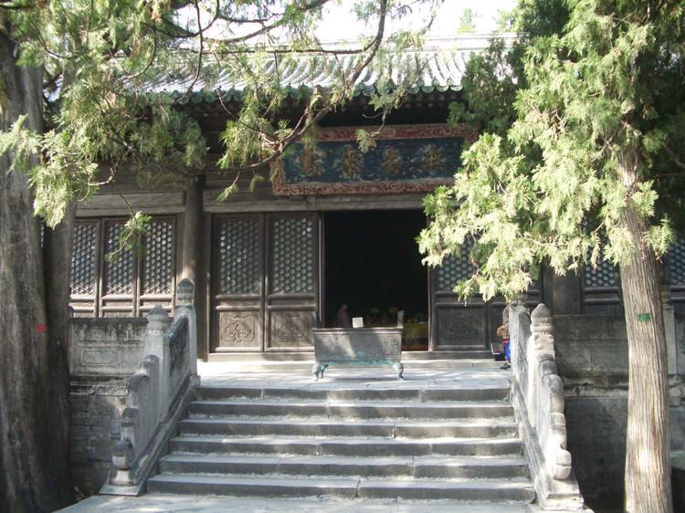 北京西山大觉寺大雄宝殿