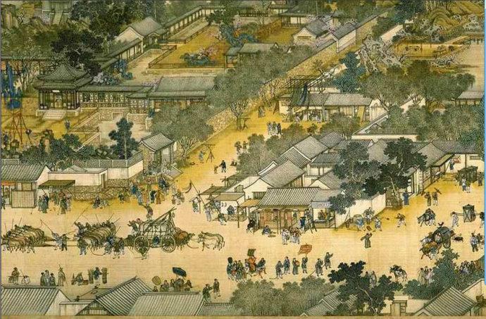 中国古建筑城市规划设计的特点