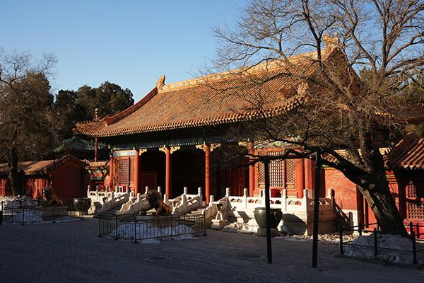 故宫古建筑文物保护