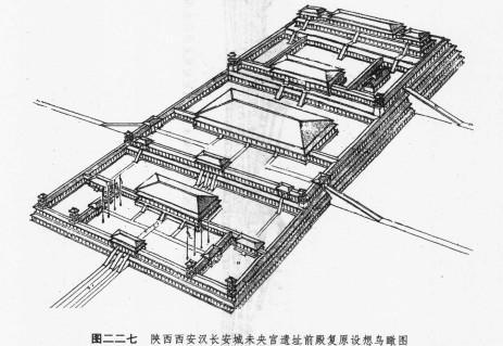 秦代阿房宫与汉代未央宫皇家古建筑-南方古建筑设计院