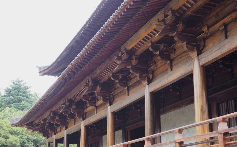 锡槽结构_南京定山寺木结构仿唐大雄宝殿设计重建-南方古建筑设计院