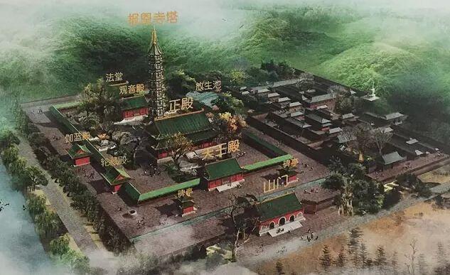 南京古建筑大报恩寺百年老殿急需修缮