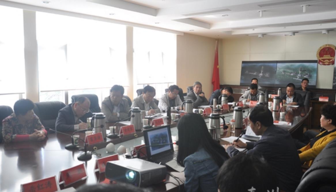 甘肃秦州区召开南郭寺佛塔建设设计方案评审